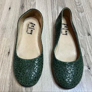 Fs/ny Green French Sole Flat